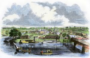 Rome, Georgia, in the mid-1800s