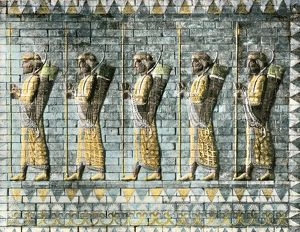 Royal Persian Guard of Darius the Great