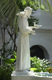 Saint Francis of Assisi statue