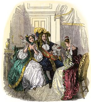 Scene from a Moliere play