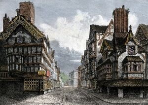 Shrewsbury, England, in the 1500s