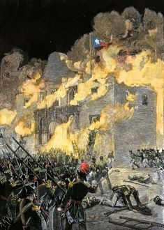 Siege of the Alamo, 1836
