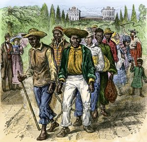 Slaves in Washington DC, early 1800s