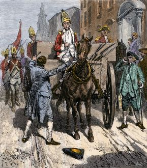 Sons of Liberty seizing weapons in New York City