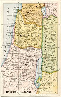Southern Palestine in ancient times