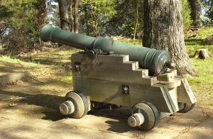 military history/spanish colonial cannon replica arkansas post