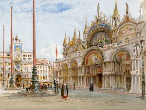 St. Mark's Cathedral, Venice, 1800s