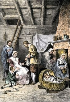 Starving colonists at Jamestown