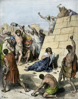 Stephen stoned to death in 36 AD