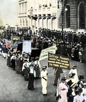 Suffragettes in New York City, 1911