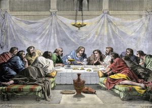 Last Supper of Jesus and the Apostles