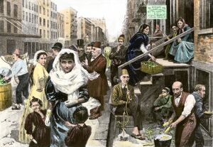Syrian immigrants in New York City, 1890s
