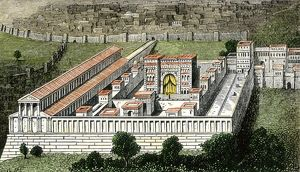 Temple in Jerusalem during the Roman Empire