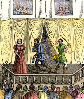 Theatrical performance in the time of Shakespeare