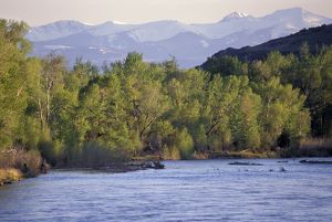 Tobacco Root Mountains and the Jefferson River, Montana