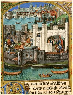 Tower of London in the late Middle Ages