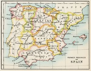 Traditional provinces of Spain