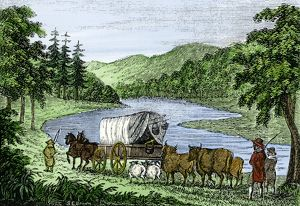 Vermont settlers along the Connecticut River