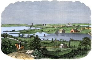Washington DC in the 1840s
