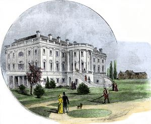 White House in the 1880s