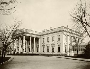White House in the 1890s
