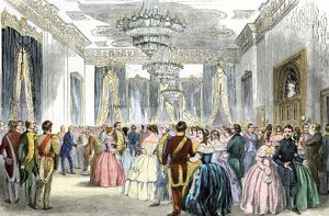 White House reception, 1850s