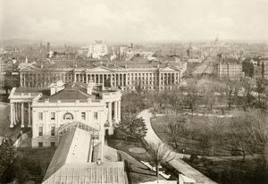 White House and Treasury Building, 1890s