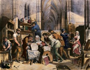 William Caxton, the first English printer